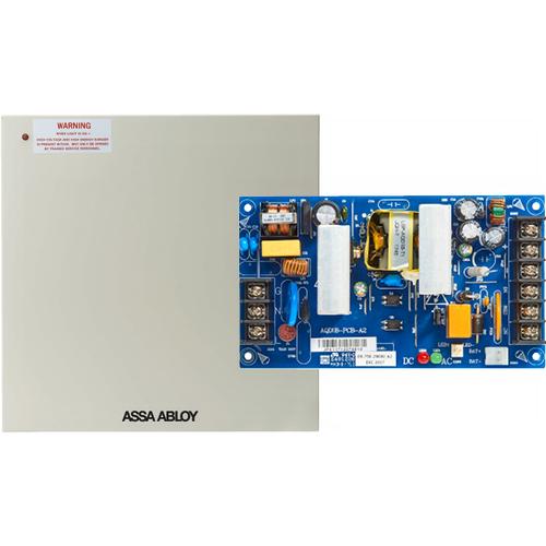 Securitron AQD1 Power Supply - 1 Amp, 12 / 24 Volt DC, Supervised in Enclosure
