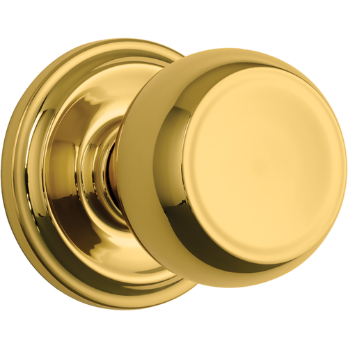 Brinks 23041-105 Stafford Passage Push Pull Rotate Lockset Polished Brass Finish
