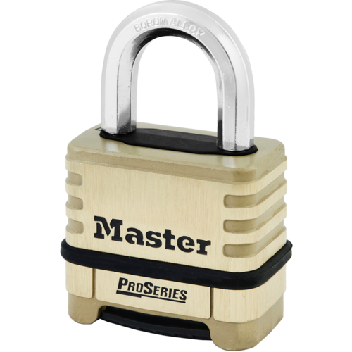 Master Lock 1175 Resettable Brass Padlock Boxed