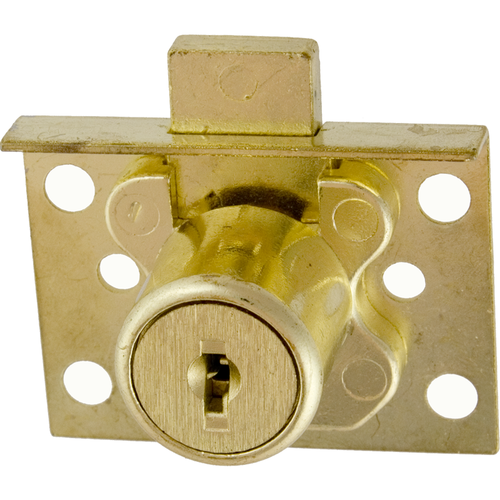 CCL 02065KD Half Mortise 7/8in Disc Drawer Lock Us4
