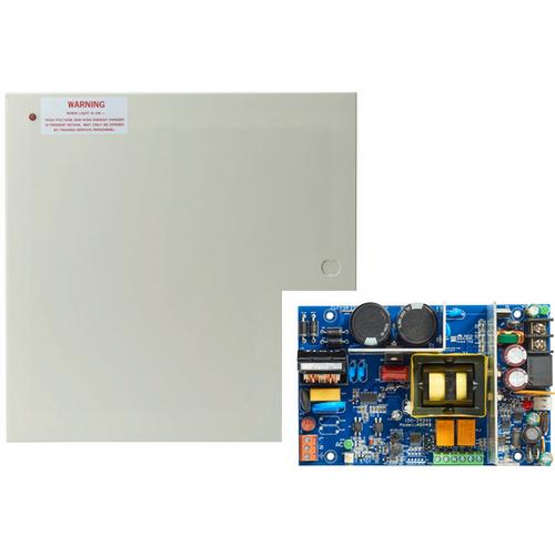 Securitron AQD4 Power Supply - 4 Amp, 12 / 24 Volt DC, Supervised in Enclosure
