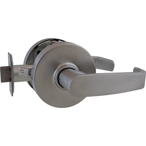 Sargent 10U15LL26D Passage Lever Lock Grade 1 with L Lever and L Rose Satin Chrome Finish