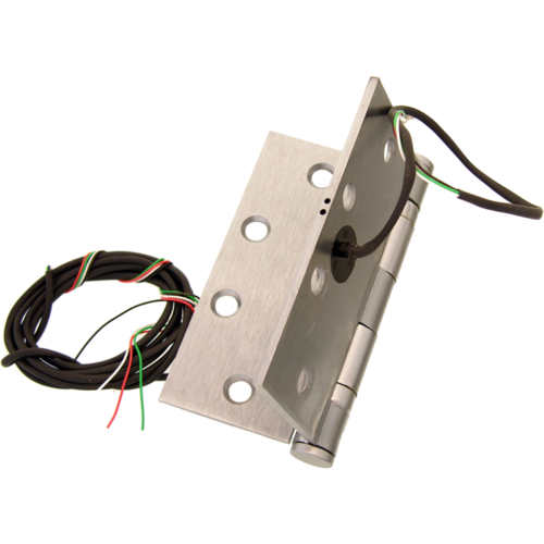 Command ETH4W4040/26D 4in X 4in 4-wire 26g Electric Hinge