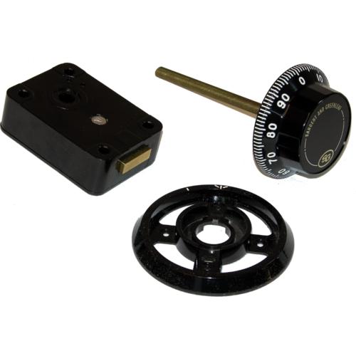 Sargent & Greenleaf 6730-100 Group2 Safe Lk W/dial And Ring
