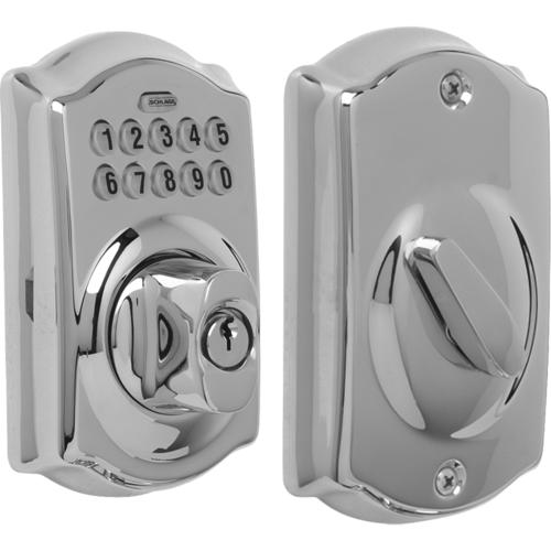 Schlage BE365CAM626 Schlage Lock Pushbutton Lock