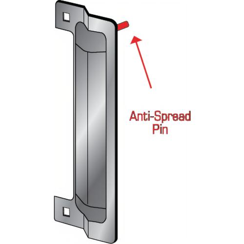 Pro-Lok ELP-240-1-S-BULK Latch Protector 13in W/1-pin Versatile