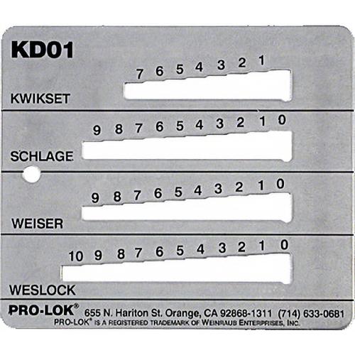 Pro-Lok KD01 Decoder Kwi-sch-wes-wei