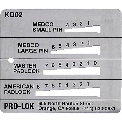 Pro-Lok KD02 Decoder Med-med-mas-ama