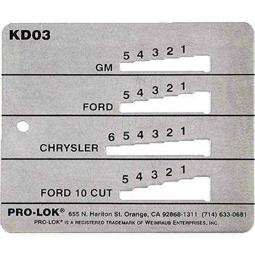 Pro-Lok KD03 Decoder Gm-ford-chrysler