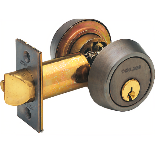 Schlage B252PD6626-2-3/4 BS Gatelatch 2-3/4in Double Cyl 6pin C