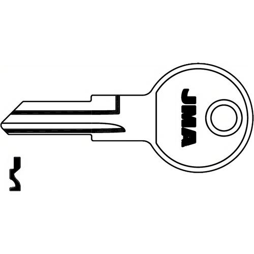 JMA B1-NP Key Blank Strattec B1 1098m Np