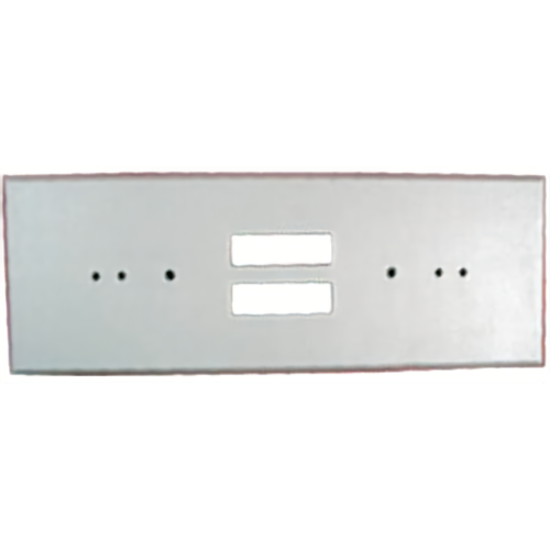 Bosch TP160 Trim Plate F/ Sgl Gang Box Gray