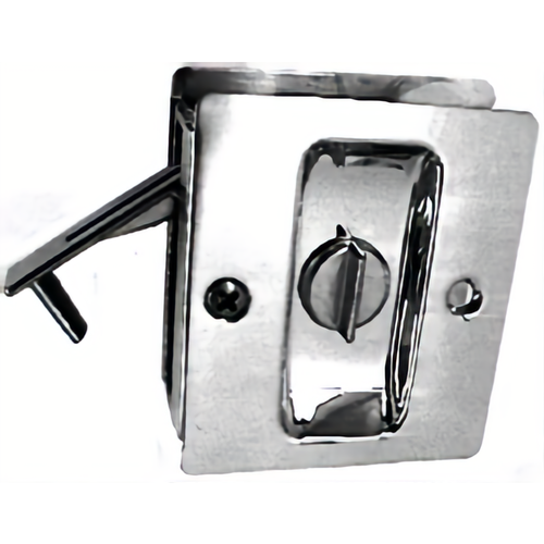 Trimco 1065.613 Privacy Pocket Door Lock Square Cutout for 1-3/8