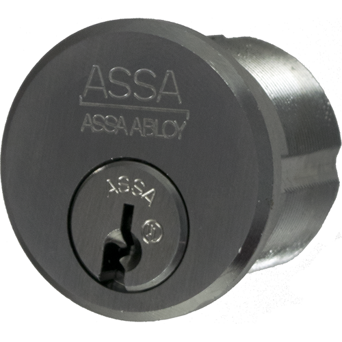 Assa Abloy 6551-1-626-SNS Twin 6000 Mort Cyl 1-1/8in Ar Cam Sns