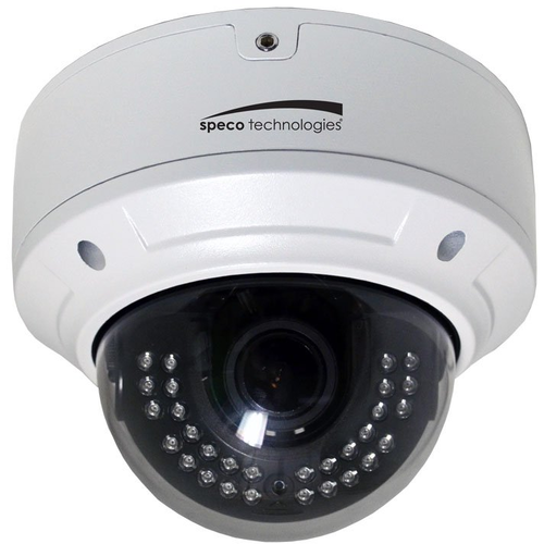 Speco O2VLD6 Ip 2mp I/o Dome Cam 2.8-12mm White