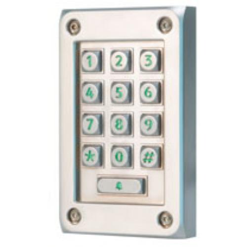 Paxton Access 521-715-US Vandal Resistant Metal Keypad