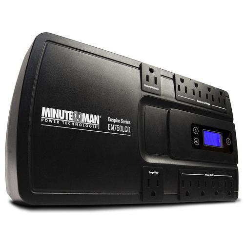 Minuteman EN900LCD 900va/500watt Standby Ups