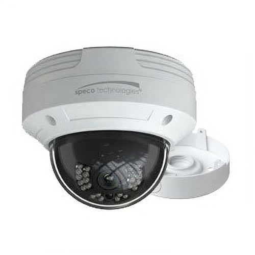 Speco VLDT5W Hd-tvi 2mp Ir Dome 2.8mm White W/jct Bo