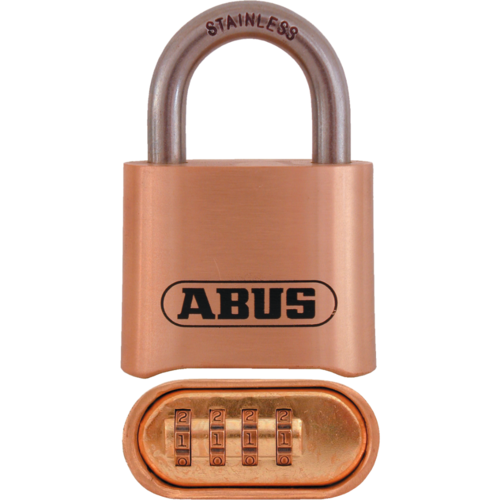 Abus 180IB/50HB63 C Solid Brass Resettable 4-dial 2-5/16in