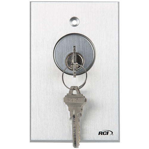 Rutherford Controls 960-DMO-28 Dpdt Momentary Key Switch