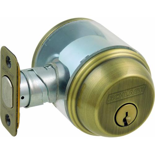 Schlage B60N609 12-287 Deadbolt Single Cylinder Grade1