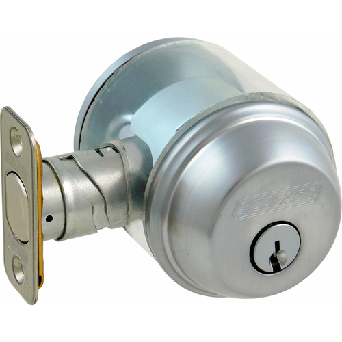 Schlage B60N626 12-287 Deadbolt Single Cylinder Grade1