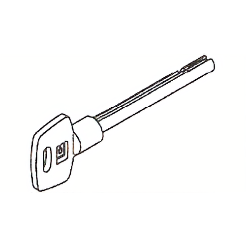 La Gard 2212-02 Pair Of Keys 3in Random Cut