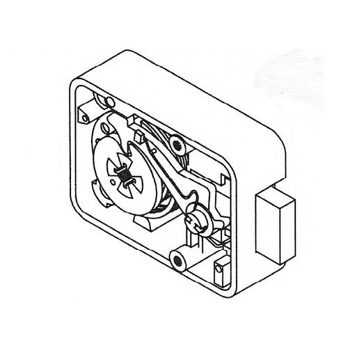 La Gard 3330 Lock Group 2m 3 Whl Combo