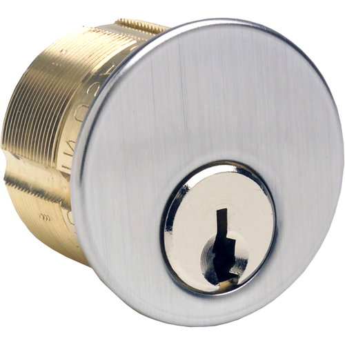GMS M100YA26D-ATA2 Mortise Cylinder 1in 5p Yal 8 Ar/st Cam
