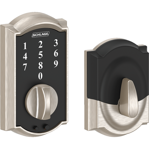 Schlage BE375CAM619 12-287 Touch Keypad Deadbolt Camelot