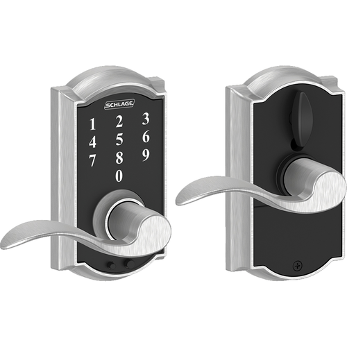 Schlage FE695CAMACC626 16-211 Touch Keypad Lever Camelot/accent