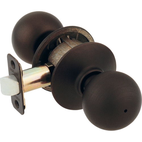 Schlage F40ORB613 16-080 Privacy Orbit Knob Grade2