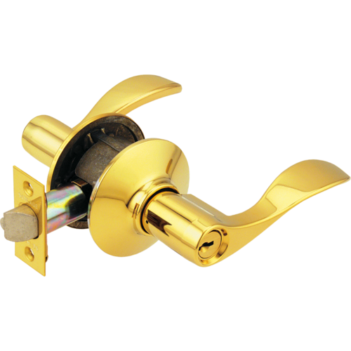 Schlage F51AACC605 16-211 Entry Lever Accent Grade2 Ka4
