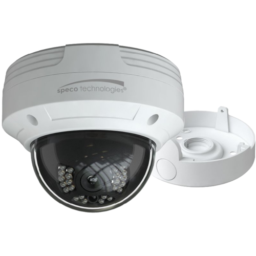 Speco O4VLD5 4mp H.265in Dome Ip Camera, 2.8mm Lens