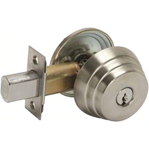 Arrow Lock E61-10B-CS-2 3/8 BS Deadbolt Single Cylinder Grade2 Sch C