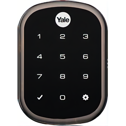 Yale YRD256 CBA 10BP Kit - Key Free Ts Connect By August Slim