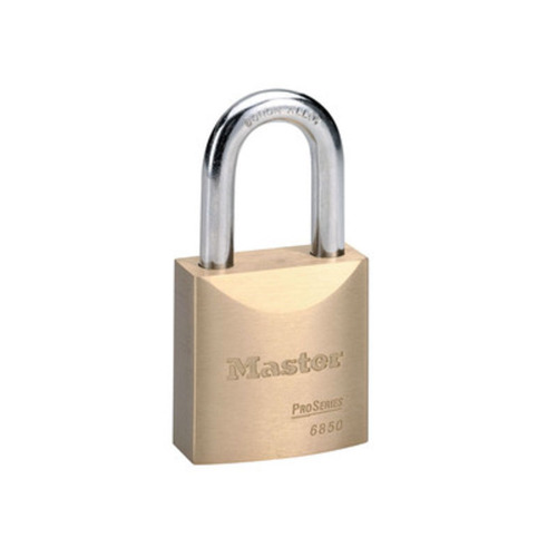 Master Lock 6851LJWO Pro Brass Padlock 2in Ic Core